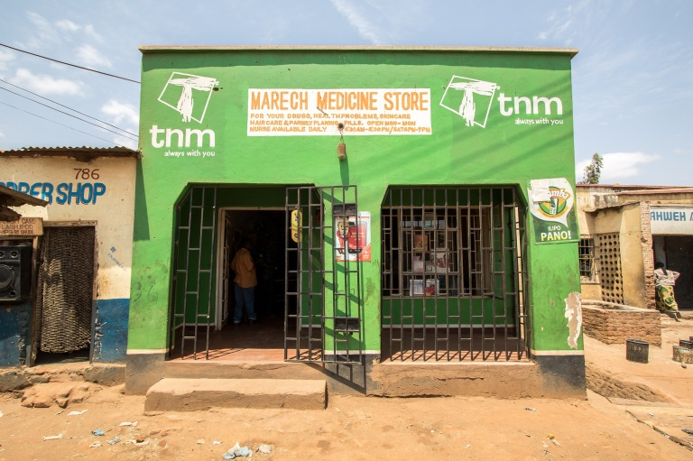 Medicine Store Malawi Africa Grow Movement