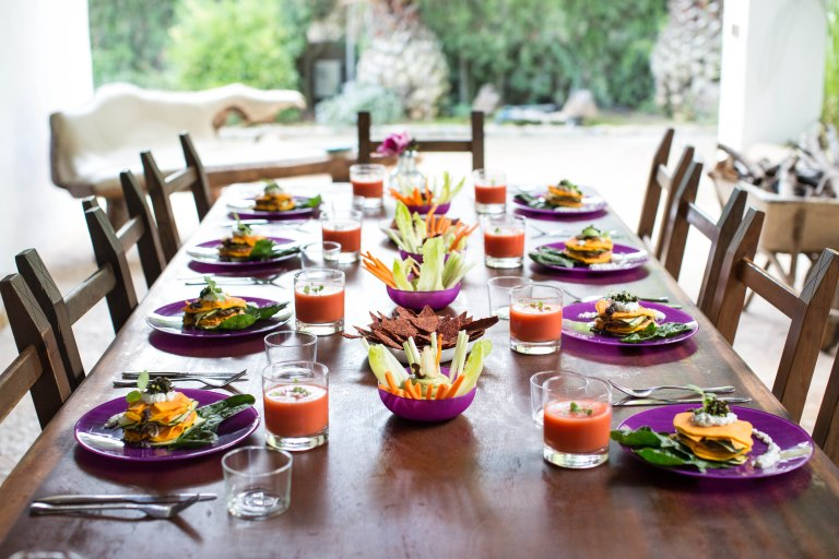 Cala Retreats Rawfood Feast