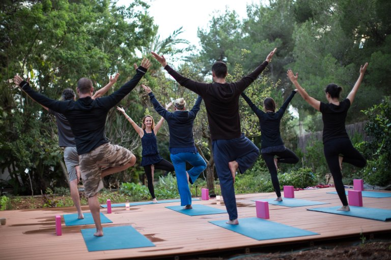 Cala Retreats Yoga Class