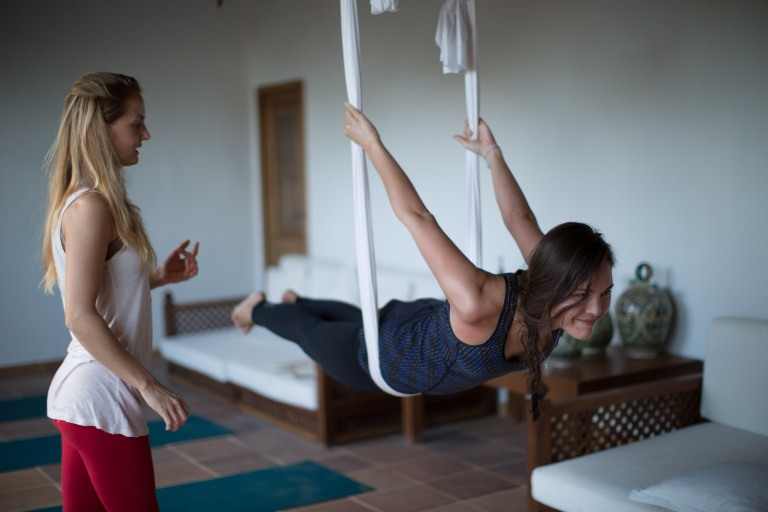 Cala Retreats Aerial Yoga